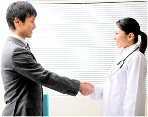 医師の転職をサポートしてくれるサービス